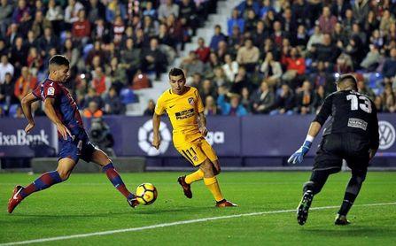 El Levante no ha ganado nunca en campo Atlético y solo ha puntuado una vez