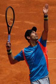 Santiago Giraldo, un tenista de las pequeñas alegrías