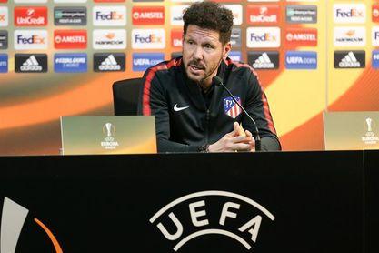 """Simeone: """"Me espero a un Sporting con mucha fortaleza"""""""