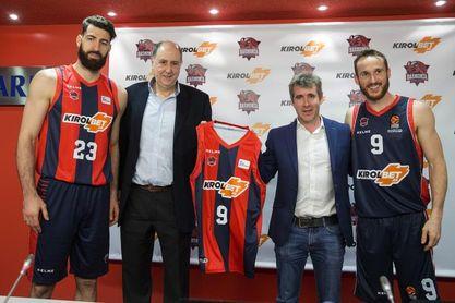 Baskonia y Kirolbet unen fuerzas hasta el final de la temporada 2020-21
