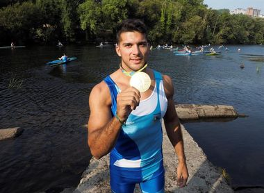 Cristian Toro, ilusionado con estar en el K4 500 español