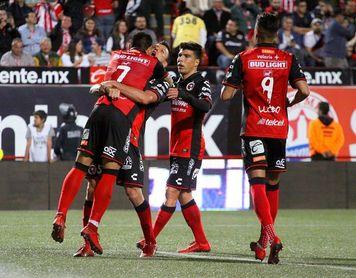 3-0. El Tijuana golea al Guadalajara y da un paso firme hacia la liguilla