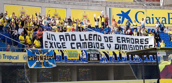 El Estadio de Gran Canaria registró la peor asistencia en Liga desde 2015