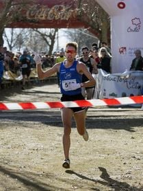 Ricardo Serrano y Azucena Díaz, campeones de España de 10 kms. ruta