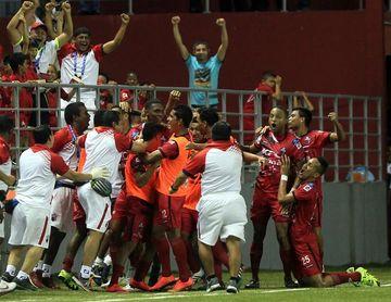 San Francisco F.C. sumó de a tres en una jornada de cuatro empates en Panamá