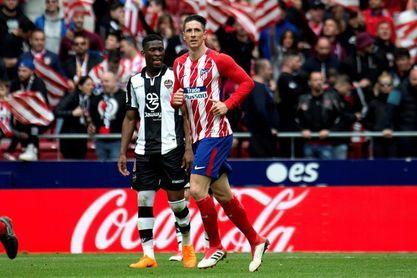 Torres marca su gol cien en Primera División
