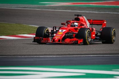 "Vettel: ""Tuve suerte de acabar la carrera"""