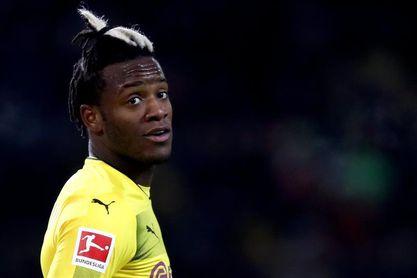 El belga Batshuayi (Dortmund) se pierde el resto de la temporada