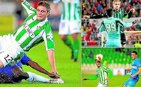 Joaquín llegó a jugar Champions con el Betis, con el que también jugó en la UEFA, torneo que en su nuevo formato han disputado Adán y Rubén.