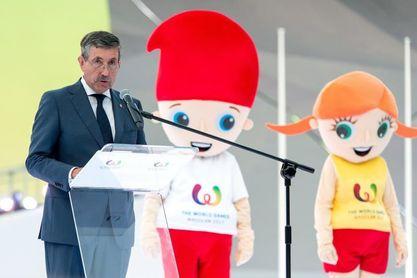 El español José Perurena es reelegido presidente de los Juegos Mundiales