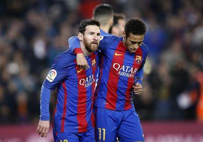 Messi y Neymar guían una campaña en pro de la alimentación escolar en Latinoamérica