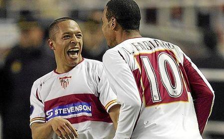 Adriano tiene una gran colección de títulos, tras su paso por el Sevilla y el Barça.