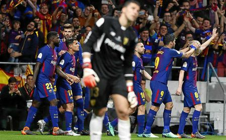 Sevilla FC 0-5 Barcelona: Lágrimas por el Sevilla que se fue
