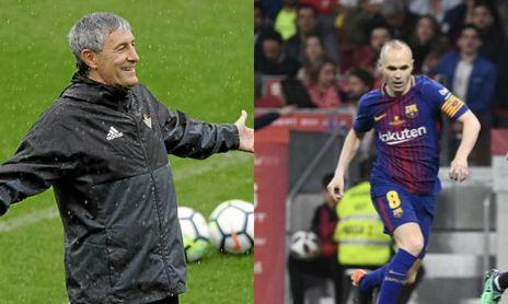 "Setién: ""Iniesta, vente al Betis"""