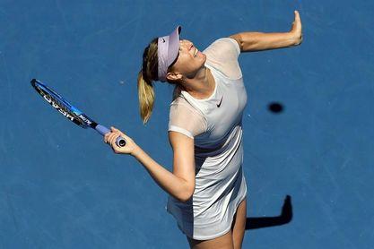 Caroline García elimina Sharapova en la primera ronda