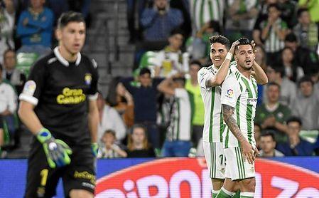 Sergio León promedia un gol cada 162 minutos esta temporada.