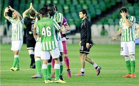 Ceballos recuerda su debut con el Betis en Primera