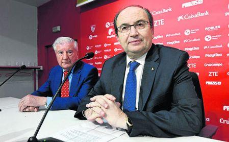 José Castro está afrontando su primera gran crisis como máximo dirigente del Sevilla.