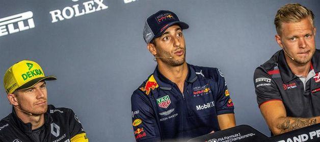 Ricciardo niega que tenga un acuerdo con Ferrari para el próximo año