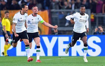 El Liverpool pierde en Roma (4-2), pero sella el billete para Kiev