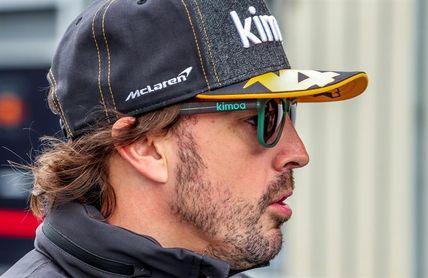 Alonso el más rápido en la primera sesión de libres