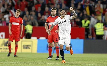 El Getafe se queda casi como único rival del Sevilla por la séptima plaza.