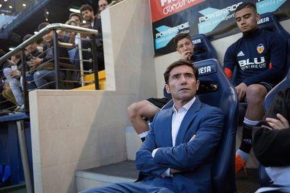 """Marcelino: """"No se le puede poner un pero al equipo"""""""