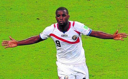 Joel Campbell, en la lista de 23 convocados de Costa Rica para Rusia 2018.