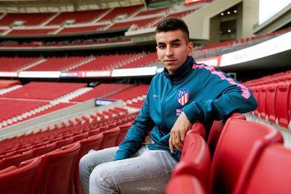 Vrsaljko, Lucas y Correa, titulares en el Atlético