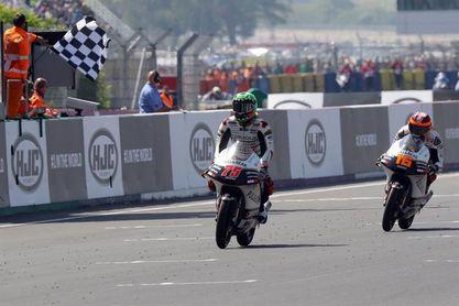 """Arenas se """"encuentra"""" con una victoria por sanción a Di Giannantonio en Moto3"""