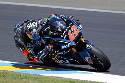 Bagnaia dominó de principio a fin en Moto2
