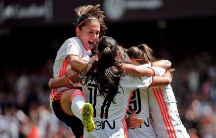 El Valencia cree en la remontada copera ante el Atlético de Madrid
