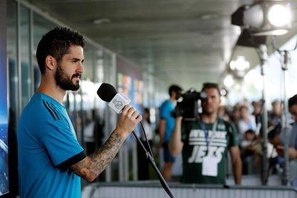 """Isco: """"Estoy muy contento en el Madrid y feliz con mi carrera"""""""