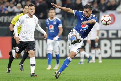 0-1. Corinthians pierde ante Millonarios, pero termina primero del grupo G
