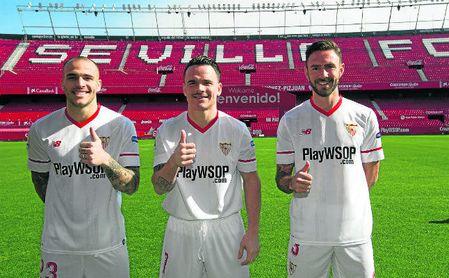 Sandro, Roque Mesa y Layún quieren seguir vistiendo de blanquirrojo la próxima campaña.