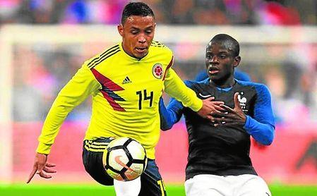 Luis Fernando Muriel se encuentra concentrado con la selección de Colombia.