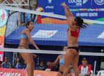 Paraguay y Venezuela se adjudican el oro suramericano en voleibol de playa