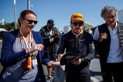 """Alonso: """"Espero que volvamos a la fiabilidad en Francia"""""""