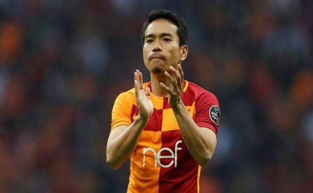 Nagatomo en la dinámica del Galatasaray.