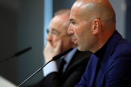 """Zidane: """"No sé qué voy a hacer"""""""