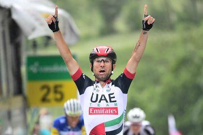 El italiano Ulissi vence la etapa y Porte se sitúa como nuevo líder