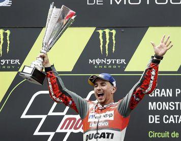 """Lorenzo: """"En deporte todo puede pasar, pero me gusta ir carrera a carrera"""""""
