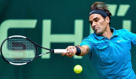Federer espera a Roberto Bautista o Borna Coric en la final de Halle