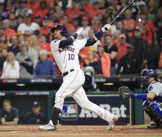 4-3. Correa remolca con sencillo el triunfo de los Astros