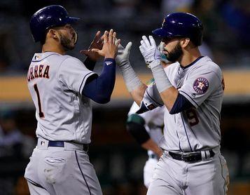Los Astros completan la remontada; los Indios consolidan su juego ganador