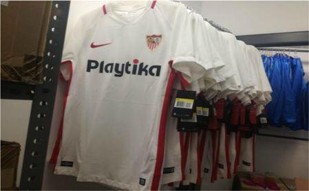 Camiseta Sevilla FC futbol