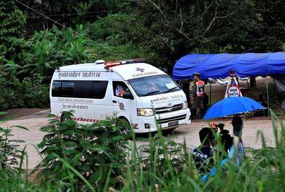 Completado con éxito el rescate de los doce niños y su monitor atrapados en Tailandia