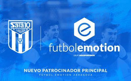 Futbol Emotion se convierte en el nuevo patrocinador de AD Sala Zaragoza.