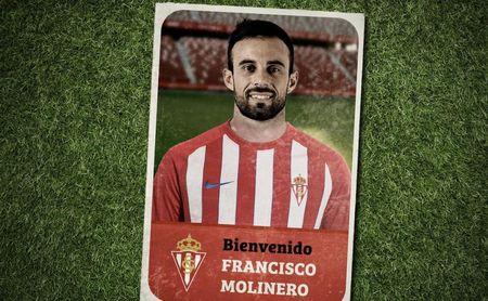 El Sporting ha hecho oficial el fichaje de Molinero.