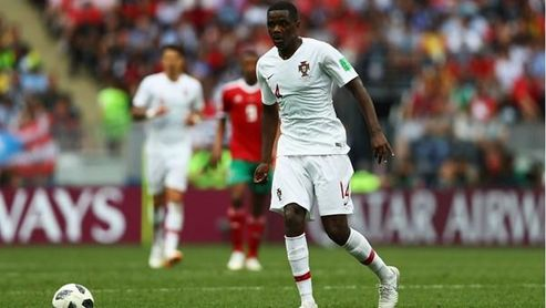 Carvalho, en un partido con Portugal.